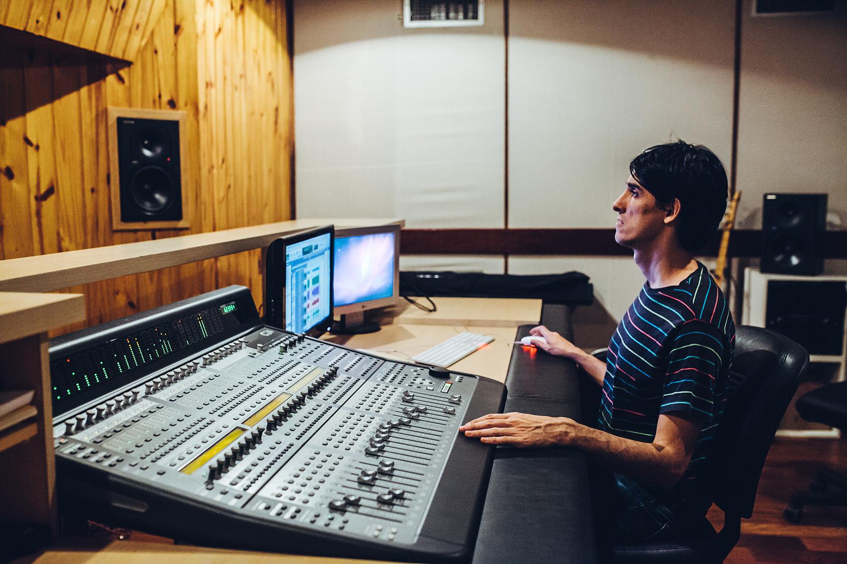 estudio gravação